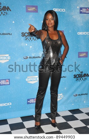 Tanedra Howard at the 2009 Spike TV Scream Awards, at the Greek Theatre, Los Angeles. October 17, 2009  Los Angeles, CA Picture: Paul Smith / Featureflash