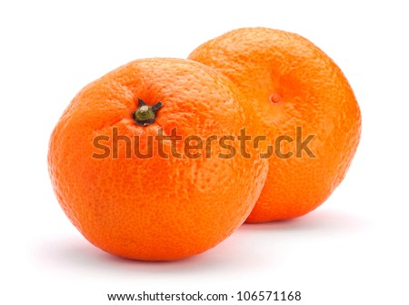 Tangerine fruit - stock photo
