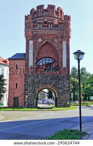 Tangermuender Gate - stock photo