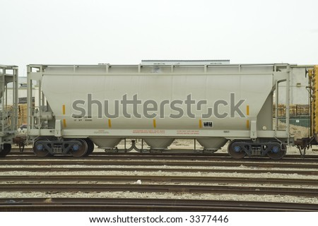 Tank Car - stock photo