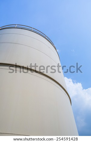 Tank storage - stock photo