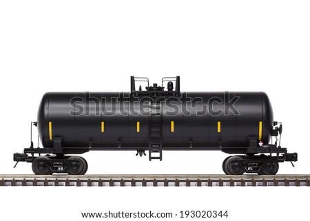 Tank Train Car - stock photo