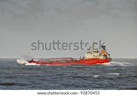Tanker - stock photo