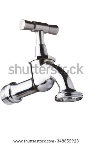 Tap isolated on white background