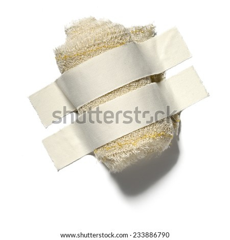 Tape and Adhesive plaster - stock photo
