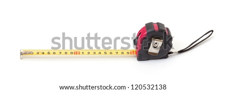 Tape Measure, isolated on white background