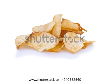 Tapioca Chips or Cassava chips. Very tasty deep fried snacks similar to potato chips.
