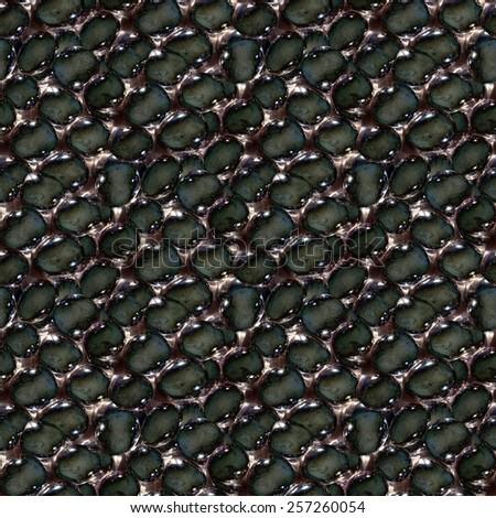 Tar bubbles, photographic wallpaper - stock photo
