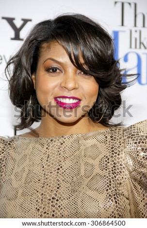 Taraji P. Henson at the Los Angles premiere of 'Think Like a Man' held at the ArcLight Cinemas in Hollywood, USA on February 9, 2012. - stock photo