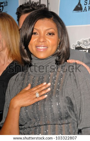 Taraji P. Henson  at the 25th Film Independent Spirit Award Nominations Press Conference, Sofitel Hotel, Los Angeles, CA. 12-01-09