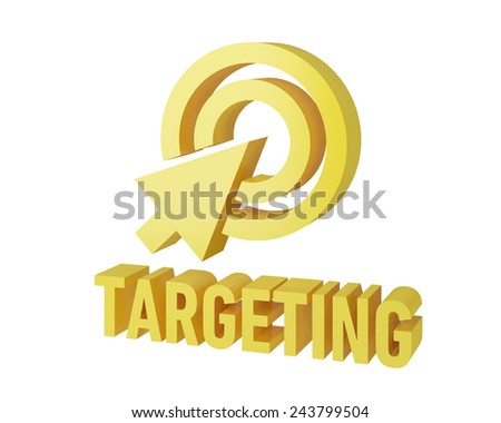 targeting seo - stock photo