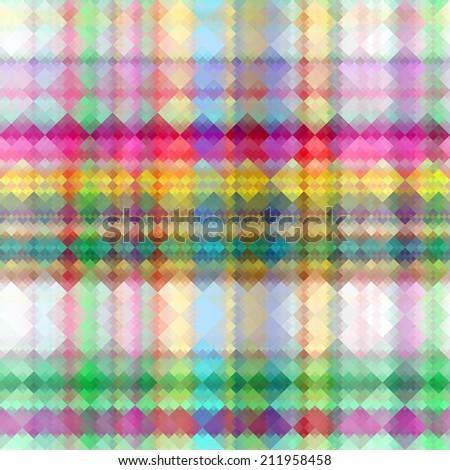 Tartan seamless background  - stock photo