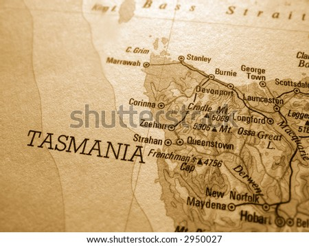 Tasmania - stock photo