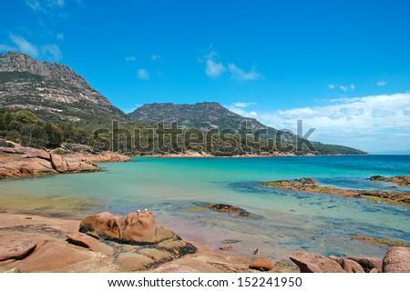 Tasmanian Coast, Tasmania Australia - stock photo