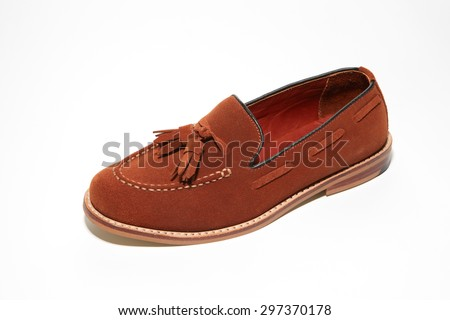 tassel loafer shoe brown