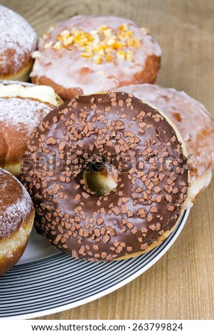 tasty donuts - stock photo