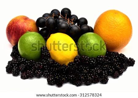 Tasty Fruity Organic Fruits  - stock photo