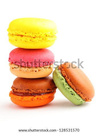 tasty macaroon - stock photo