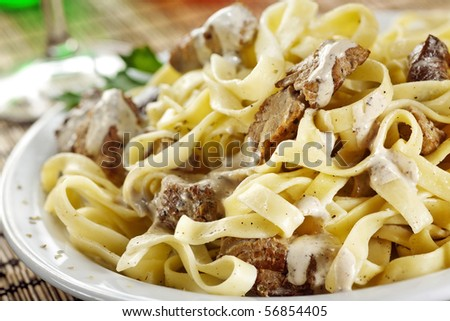 tasty meal - stock photo
