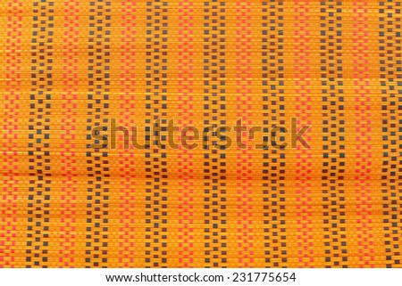 Tatami mat texture - stock photo