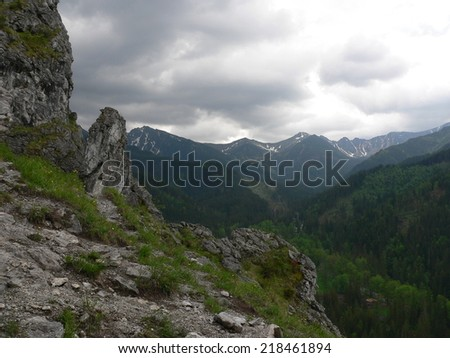 Tatra Mountains in Poland