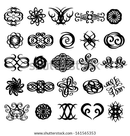 tribal tattoo heart stock images royalty free images vectors shutterstock. Black Bedroom Furniture Sets. Home Design Ideas