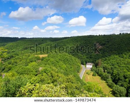 Taunus in Germany - stock photo