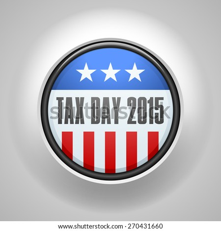 Tax Day 2015 sign