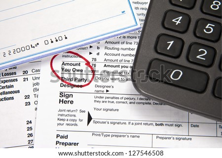 Amt tax and stock options