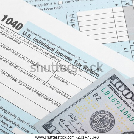 Individual Income Tax Form Stock Images Royalty Free Images