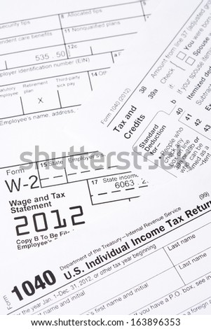 1040 Tax Form Stock Photos, Royalty-Free Images & Vectors