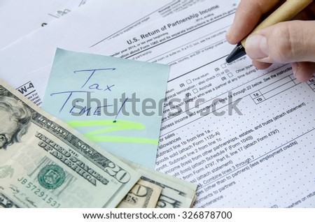 Tax forms 1065