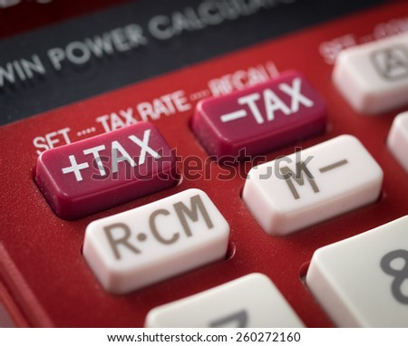 Tax on calculator