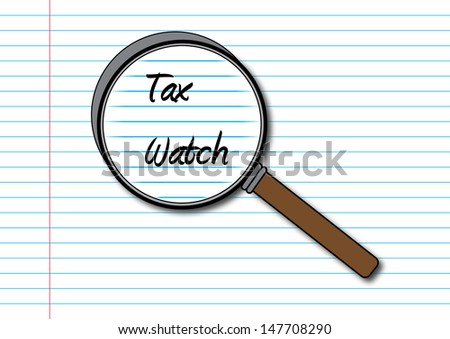Tax Watch Concept - stock photo