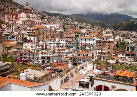 Taxco mexico sep 20 2014 taxco is heavily associated with silver