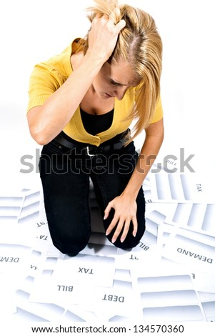 Taxes and finance - stock photo
