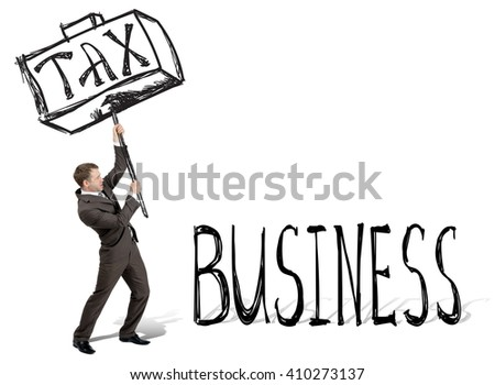 Taxes hit business