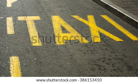 Taxi station