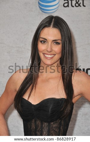Taylor Cole at Spike TV's Guys Choice Awards 2011 at Sony Studios, Culver City, CA. June 4, 2011  Los Angeles, CA Picture: Paul Smith / Featureflash - stock photo
