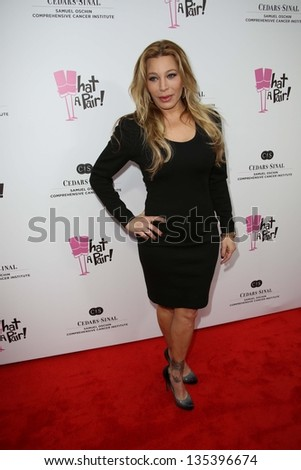 Taylor Dayne at the What a Pair Benefit 2013, Eli Broad Stage, Santa Monica, CA 04-13-13 - stock photo
