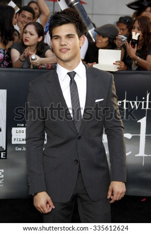 "Taylor Lautner at ""The Twilight Saga: Eclipse"" Los Angeles Premiere held at the Nokia Live Theater in Los Angeles, California, United States on June 24, 2010."