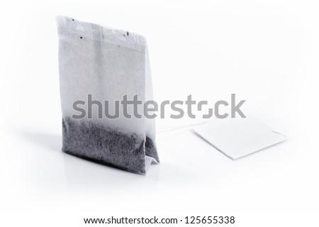 tea bag - stock photo