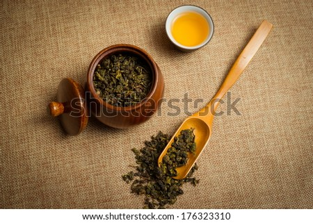 tea ceremony,Asian traditional culture - stock photo