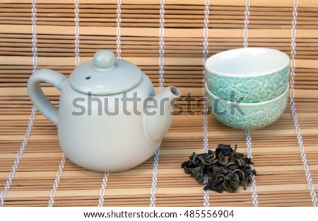 tea ceremony, green tea