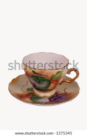 Tea Cup - stock photo