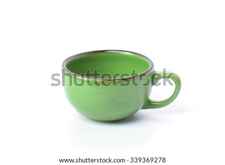 Tea cup Isolated on white background