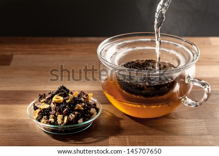 tea making - stock photo