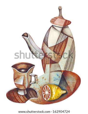 Tea Still-life - stock photo