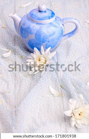 Tea still life - stock photo