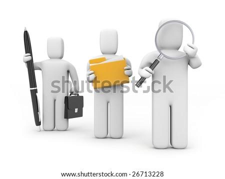 Team - stock photo